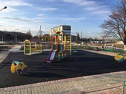 Бесшовное покрытие для детской площадки 11
