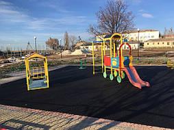 Бесшовное покрытие для детской площадки 12