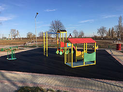 Бесшовное покрытие для детской площадки 13