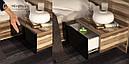 Кровать 160х200 Соната с тумбами и каркасом Миро-Марк, фото 4