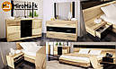 Кровать 160х200 Соната с тумбами и каркасом Миро-Марк, фото 5