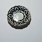 Тарелка Пахта, Узбекская тарелка с орнаментом Пахта 17см, фото 4