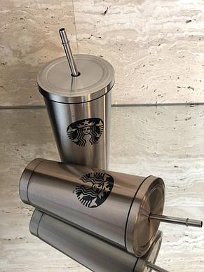 Термостакан с трубочкой Starbucks , фото 2