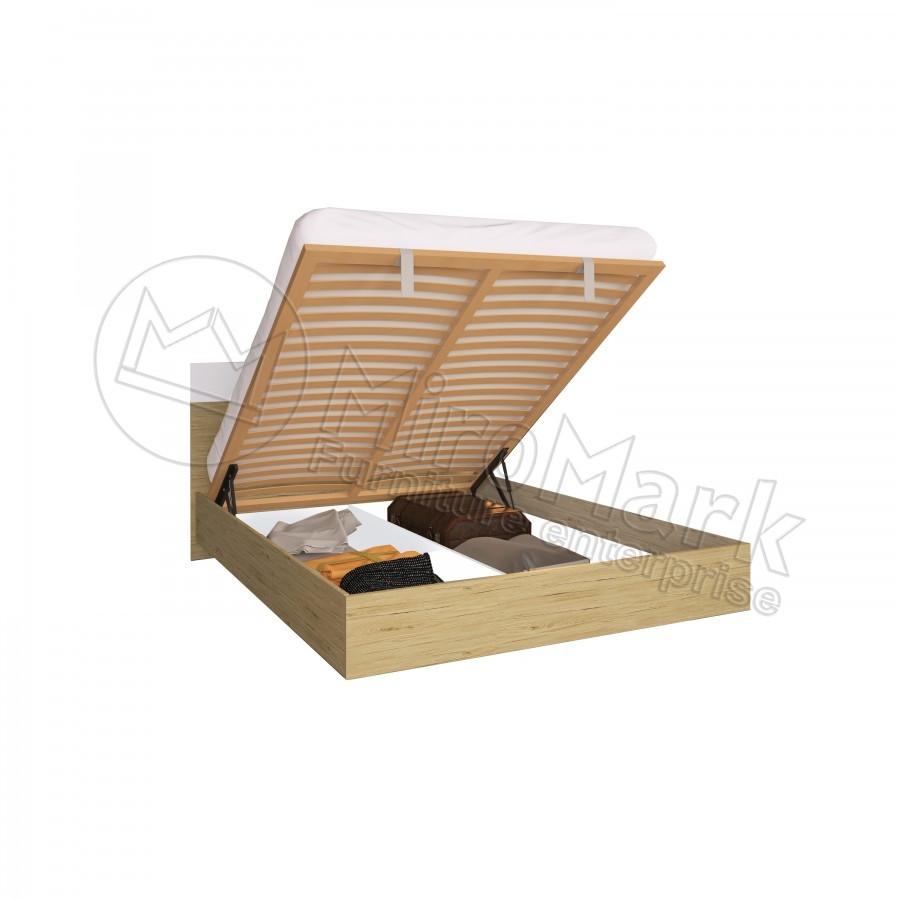 Кровать 160х200 Соната с подъемником и каркасом Миро-Марк