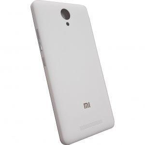 Задняя крышка для смартфона Xiaomi Redmi Note 2, белая, с боковыми кнопками