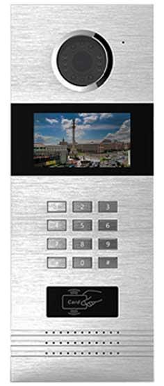 Багатоквартирна виклична відеопанель NEOLIGHT NL-HPC01