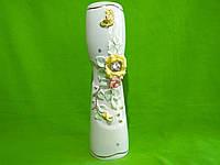 Керамическая настольная ваза «Роксен» (пастель лепка)