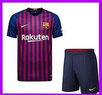 Детская футбольная форма Барселоны, сезон 2018/2019 (домашняя)
