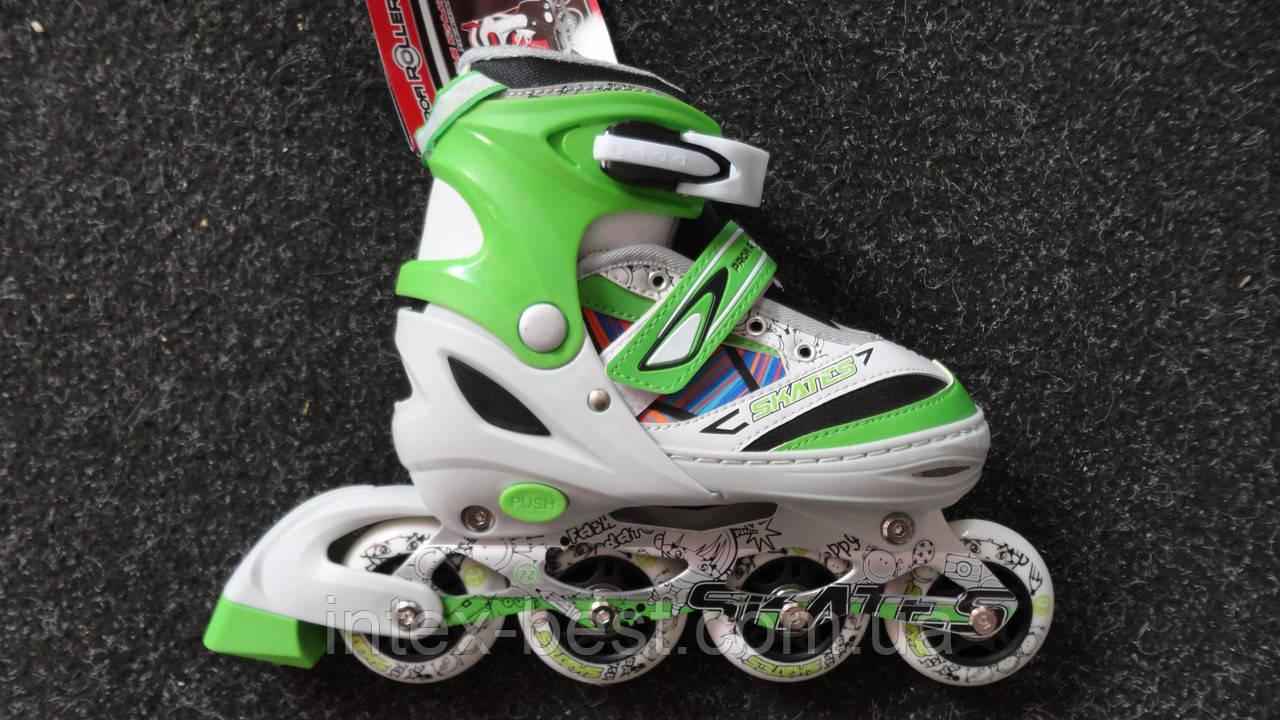 Роликовые коньки Profi Roller A 14094 раздвижные