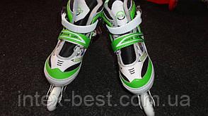 Роликовые коньки Profi Roller A 14094 раздвижные, фото 2