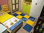 Напольный коврик-пазл для детей 48х48х1см (х10шт) , фото 6