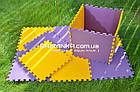 Напольный коврик-пазл для детей 48х48х1см (х10шт) , фото 8