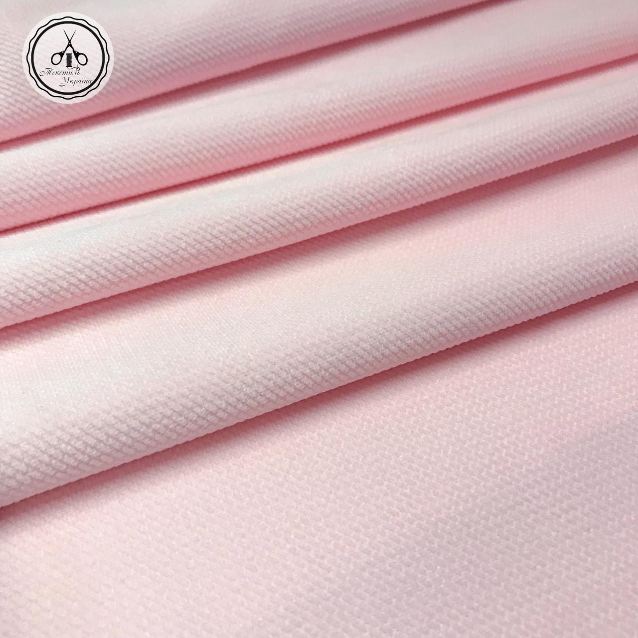 Вельвет цвет розовый 280 г/м2