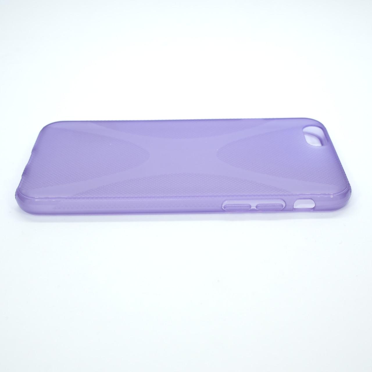 Чехол silicone New Line iPhone 6 lilac Для телефона Apple
