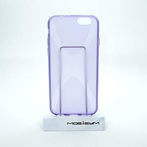 Чехол silicone New Line iPhone 6 lilac, фото 2