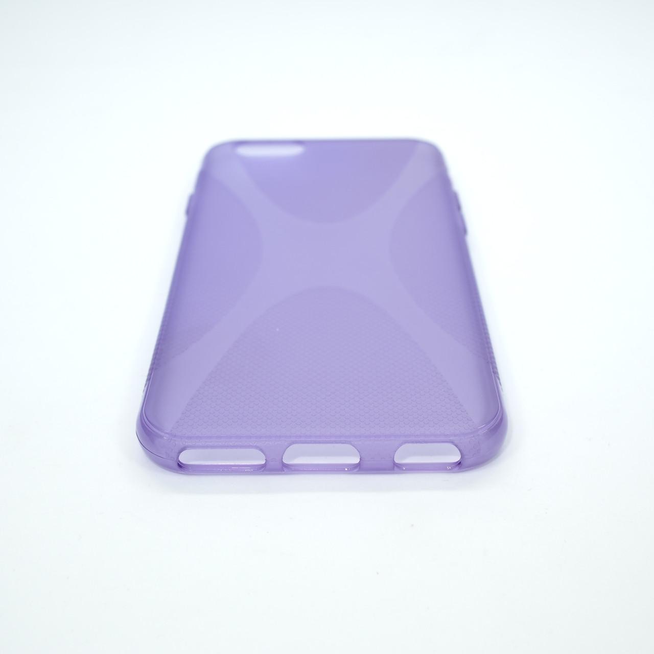 Чехол silicone New Line iPhone 6 lilac Для телефона