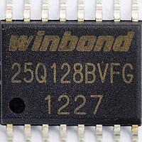 Микросхема Winbond W25Q128BVFG, 25Q128BVFG
