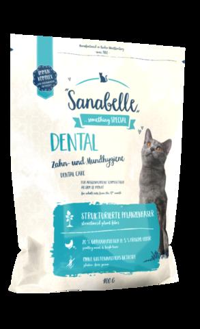 Sanabelle DENTAL - корм для кошек для профилактики заболеваний полости рта