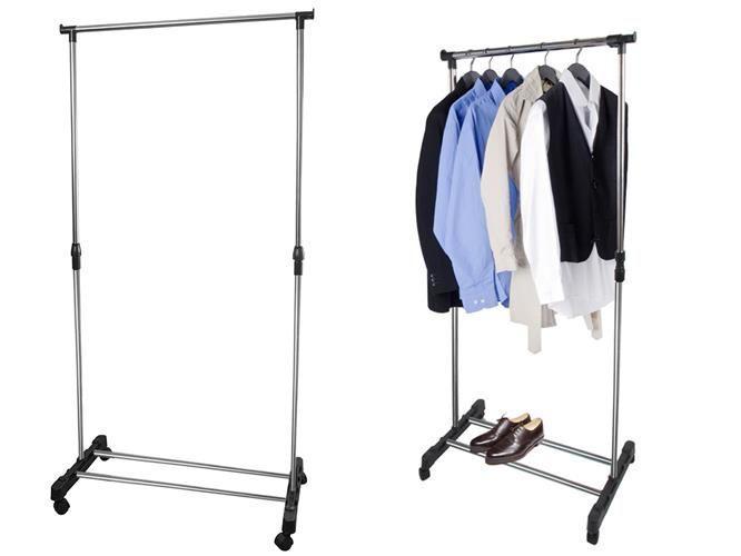 Стійка для одягу, штанга, вішак , тримач для одягу та взуття в прихожу, офіс вішалка-стійка