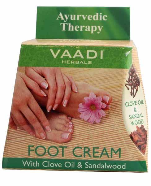 Крем для ног с маслом гвоздики и сандалового дерева, 30 г