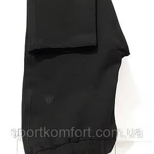 Жіночі спортивні трикотажні штани Соккер, чорні.