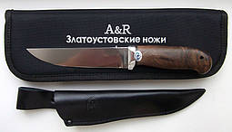 Нож АиР Сапсан, рукоятка орех, сталь 95Х18