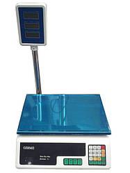 Торговые весы со стойкой Олимп Д1 40кг (340*230мм)