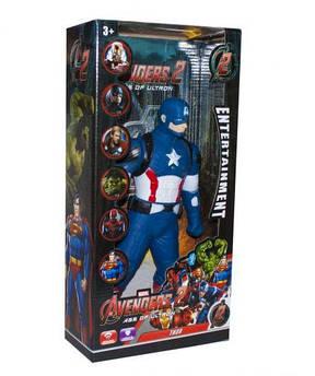 Уценка.Супергерой з муз. та світ. ефект. (коробка, 5 видів) L-99-2 р.19,5*9*39,5 см/Повреждена упако