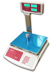 Торгові ваги із стійкою Олімп 768Д 40кг (340*230мм)