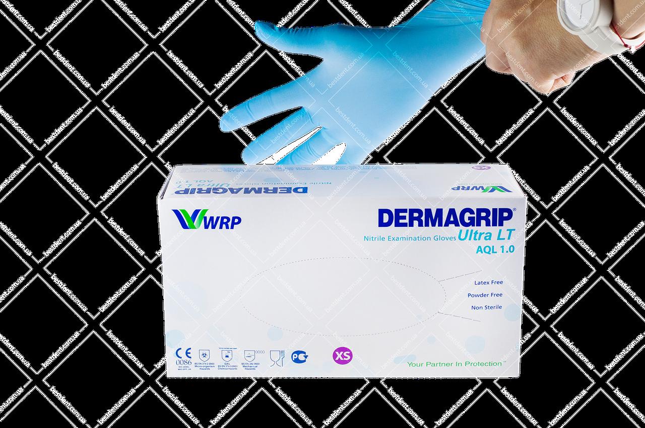 Рукавички DERMAGRIP Ultra LT,200 шт/упак(L)