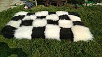 Ковер из шкурок овчины (шахматный)
