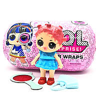 Кукла-сюрприз Лол Капсула Светящаяся Декодер L.O.L. Surprise Under Wraps Doll Series Eye Spy TOY022