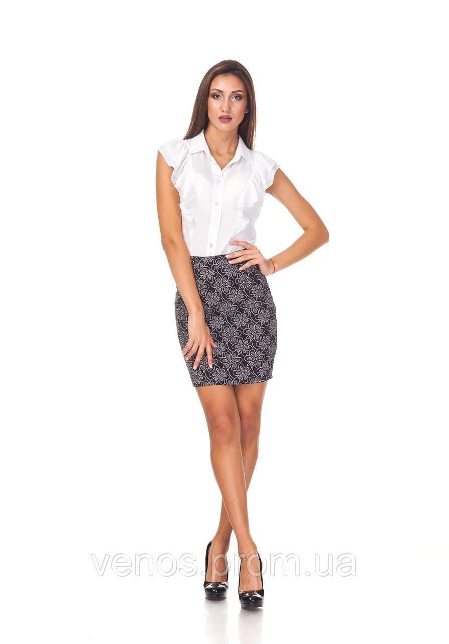 Классическая мини юбка. Ю096