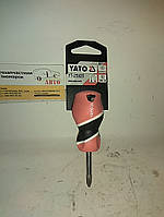 """Викрутка """"плюсова"""" з магнітом PH2*38mm ( мала ) YATO"""