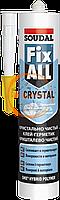 Клей-герметик Fix ALL Crystal 290мл Soudal прозорий