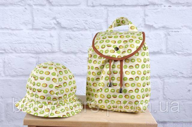 Панама и рюкзачок для малыша