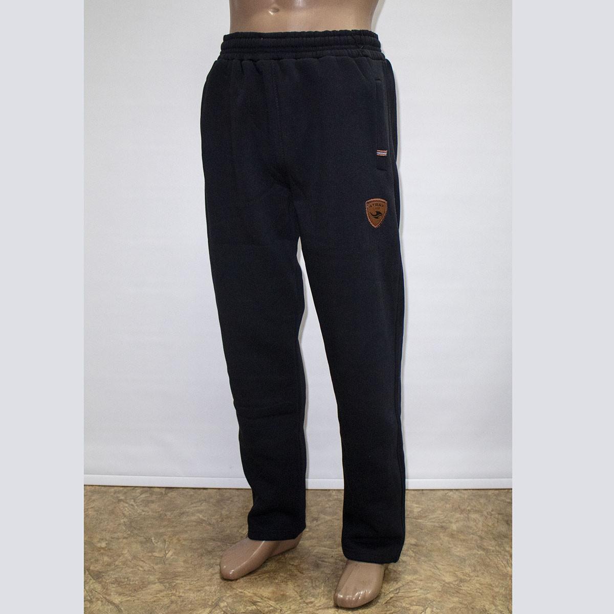 Мужские теплые спортивные штаны трехнитка пр-во Турция 1303