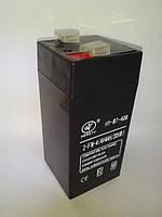 Аккумулятор 4 вольт (4V4Ah/20HR)