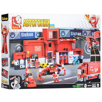 Конструктор SLUBAN M38-B0375 гонки, транспорт, фигурки, 557дет, в кор-ке,52-33-6,5см, фото 2