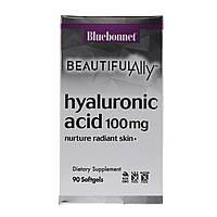 Bluebonnet Nutrition, Beautiful Ally, Hyaluronic Acid, 100 mg , 90 Softgels, фото 1