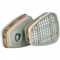 Фильтр угольный 3M 6051 (А1-органические пары) для маски 3М 6000 и 3M 7500 3M 6000 FF-400
