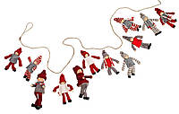 Новогодний декор 2м 10 шт Эльфов, Новогодние игрушки, Игрушки на елку