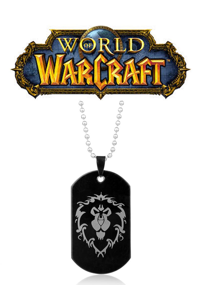 Кулон жетон World of Warcraft Варкрафт символ Альянса