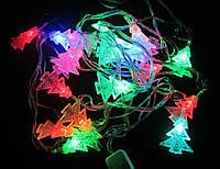 Новогодняя гирлянда Елочки светодиодная 28 LED 4 метра