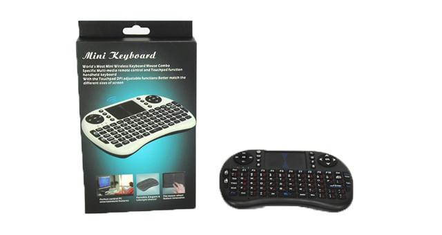 Беспроводная Мультимедийная мини клавиатура, Тачпад
