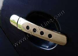 Накладки на ручки Декор (2 шт., нерж.) - Audi ТТ 1999-2015 гг.