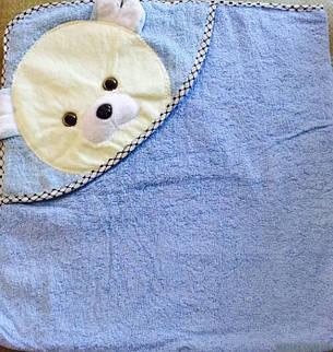 Детское полотенце Капюшон Мишка, фото 2
