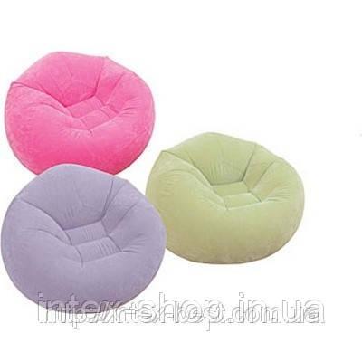 Надувное кресло Intex 68569 NP (Фиолетовый), фото 2