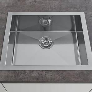 Кухонная мойка  AquaLine 600 x 500, фото 2