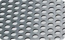 Перфорированный стальной лист толщина 2мм; 3 мм